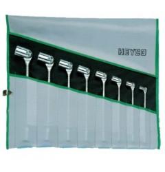 Набор двусторонних шарнирных ключей R 493-8-M, HE-00493744082, 0 руб., HE-00493744082, HEYCO,  Набор инструментов