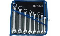 Набор комбинированных трещоточных ключей  R 50720-8-M, HE-50720600380, 12029 руб., HE-50720600380, HEYNEN, Гаечные Ключи с Трещоткой Joker