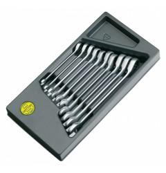 Набор комбинированных трещоточных ключей  с реверсом M 50725-10-M, HE-50725600280, 17838 руб., HE-50725600280, HEYCO, Гаечные Ключи с Трещоткой Joker