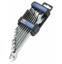 Набор рожковых гаечных ключей двухсоронних HP 50800-8-М, HE-50800644080, 2354 руб., HE-50800644080, HEYCO,  Набор инструментов