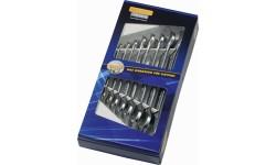 Набор рожковых гаечных ключей двухсоронних B 50800-8-М, HE-50800844080, 3331 руб., HE-50800844080, HEYCO, Биты WERA