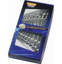 Набор комбинированных ключей B 50810-8-M, HE-50810824280, 2517 руб., HE-50810824280, HEYCO, Биты WERA