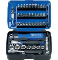 Набор головок 50829-3018, HE-50829301883, 8341 руб., HE-50829301883, HEYCO,  Набор инструментов