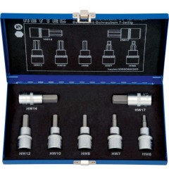 Набор отверточных насадок  50850-56, HE-50850560283, 5757 руб., HE-50850560283, HEYCO,  Набор инструментов