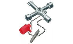 Ключ для электрошкафов KNIPEX 00 11 03, удлинённая конструкция KN-001103, KN-001103, 2723 руб., KN-001103, KNIPEX, Ключи для электрошкафов