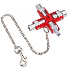 Ключ для электрошкафов 00 11 06, KN-001106, 3735 руб., KN-001106, KNIPEX,  Ключи для электрошкафов
