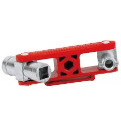 Универсальный ключ 97 mm KNIPEX 00 11 06V02, KN-001106V02, 1733 руб., KN-001106V02, KNIPEX, Ключи для электрошкафов