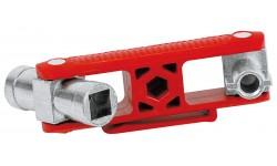 Ключ для электрошкафов KNIPEX 00 11 06 V02, универсальный KN-001106V02, KN-001106V02, 0 руб., KN-001106V02, KNIPEX, Ключи для электрошкафов