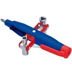 Штифтовый ключ для электрошкафов 00 11 07, KN-001107, 2317 руб., KN-001107, KNIPEX,  Ключи для электрошкафов