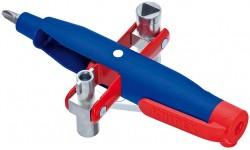 Штифтовый ключ для электрошкафов KNIPEX 00 11 07, усиленный пластиковый корпус KN-001107, KN-001107, 2859 руб., KN-001107, KNIPEX, Ключи для электрошкафов