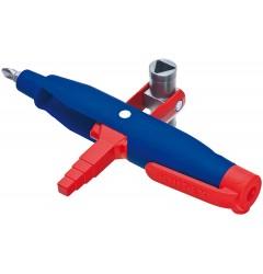 Штифтовый ключ для электрошкафов 00 11 08, KN-001108, 2399 руб., KN-001108, KNIPEX,  Ключи для электрошкафов