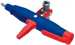 Штифтовый ключ для электрошкафов KNIPEX 00 11 08, усиленный пластиковый корпус KN-001108, KN-001108, 0 руб., KN-001108, KNIPEX, Ключи для электрошкафов