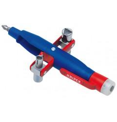 Штифтовый ключ для электрошкафов 00 11 17, KN-001117, 3371 руб., KN-001117, KNIPEX,  Ключи для электрошкафов