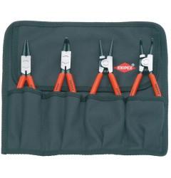 Набор щипцов для стопорных колец 00 19 56, KN-001956, 7593 руб., KN-001956, KNIPEX, Наборы инструментов и комплектующих