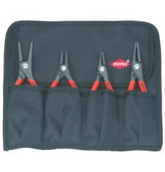 Набор щипцов для стопорных колец 00 19 57, KN-001957, 8422 руб., KN-001957, KNIPEX, Наборы инструментов и комплектующих
