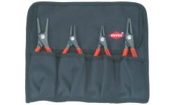Набор прецизионных клещей для стопорных колец KNIPEX 00 19 57, 4 предмета KN-001957, KN-001957, 11034 руб., KN-001957, KNIPEX, Наборы инструментов и комплектующих