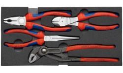 Набор слесарного инструмента KNIPEX 00 20 01 V01, в ложементе, 4 предмета KN-002001v01, KN-002001v01, 0 руб., KN-002001v01, KNIPEX, Наборы инструментов и комплектующих