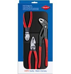 Набор инструментов особой мощности 00 20 10, KN-002010, 5261 руб., KN-002010, KNIPEX, Наборы инструментов и комплектующих