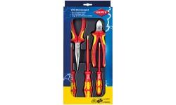 Набор электроизолированных инструментов KNIPEX 00 20 13, 5 предметов KN-002013, KN-002013, 12566 руб., KN-002013, KNIPEX, Наборы инструментов и комплектующих