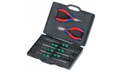Набор инструмента KNIPEX 00 20 19, для электроники KN-002018, KN-002018, 17517 руб., KN-002018, KNIPEX, Наборы инструментов и комплектующих