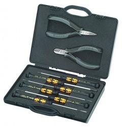 Набор инструментов для электроники 00 20 18 ESD, KN-002018ESD, 14567 руб., KN-002018ESD, KNIPEX, Наборы инструментов и комплектующих