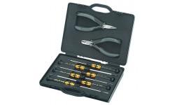 Набор инструмента антистатический 00 20 18 ESD, для электроники KN-002018ESD, KN-002018ESD, 18936 руб., KN-002018ESD, KNIPEX, Наборы инструментов и комплектующих