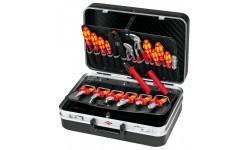 Чемодан с диэлектрическим инструментом KNIPEX 00 21 20, 20 предметов, 200х190х400 мм KN-002120, KN-002120, 94158 руб., KN-002120, KNIPEX, Наборы инструментов и комплектующих