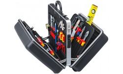 Набор изолированных инструментов в чемодане KNIPEX 00 21 40, два независимых отделения, 490х255х410 мм KN-002140, KN-002140, 0 руб., KN-002140, KNIPEX, Наборы инструментов и комплектующих