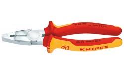 Плоскогубцы диэлектрические KNIPEX 01 06 190, VDE 1000V, комбинированные, 190 мм KN-0106190, KN-0106190, 4863 руб., KN-0106190, KNIPEX, Плоскогубцы комбинированные