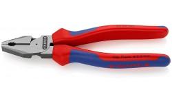 Плоскогубцы KNIPEX 02 02 180, особой мощности, двухкомпонентные ручки, 180 мм KN-0202180, KN-0202180, 2815 руб., KN-0202180, KNIPEX, Плоскогубцы комбинированные