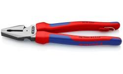 Плоскогубцы KNIPEX 02 02 225 T, особой мощности, двухкомпонентные ручки, со страховочной петлёй, 225 мм KN-0202225T, KN-0202225T, 4635 руб., KN-0202225T, KNIPEX, Плоскогубцы комбинированные
