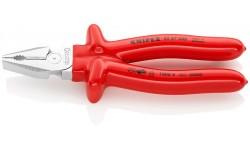Плоскогубцы KNIPEX 02 07 200, особой мощности, диэлектрические VDE 1000V, 200 мм KN-0207200, KN-0207200, 5102 руб., KN-0207200, KNIPEX, Плоскогубцы комбинированные
