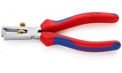 фото Инструмент для удаления изоляции хромированный 160 mm KNIPEX 11 05 160SB (KN-1105160SB])