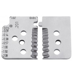 Комплект запасных ножей 12 19 02 для инструмента 12 12 02, KN-121902, 6532 руб., KN-121902, KNIPEX, Сменные ножи и запасные части