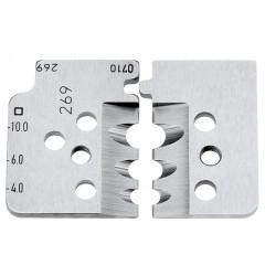 Комплект запасных ножей 12 19 12 для инструмента 12 12 12, KN-121912, 6532 руб., KN-121912, KNIPEX, Сменные ножи и запасные части