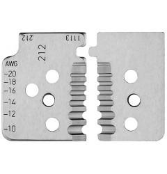 Комплект запасных ножей 12 19 13 для инструмента 12 12 13, KN-121913, 6532 руб., KN-121913, KNIPEX, Сменные ножи и запасные части
