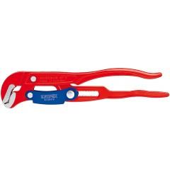 Клещи трубные с S-образным смыканием губок с красным порошковым покрытием 330 mm KNIPEX 83 60 010, KN-8360010, 4522 руб., KN-8360010, KNIPEX, Клещи переставные