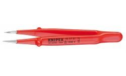 Пинцет захватный прецизионный 92 27 61, KN-922761, 2638 руб., KN-922761, KNIPEX, Электробезопасный инструмент 1000в