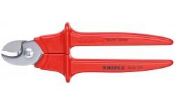 Ножницы для резки кабелей 95 06 230, KN-9506230, 5968 руб., KN-9506230, KNIPEX, Ножницы для резки кабеля , проволочных тросов, пластмассы и др.