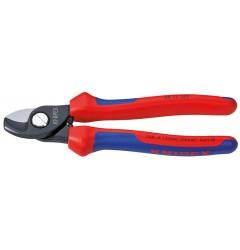 Ножницы для резки кабелей 95 12 165, KN-9512165, 3340 руб., KN-9512165, KNIPEX, Ножницы для резки кабеля , проволочных тросов, пластмассы и др.