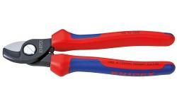 Ножницы для резки кабелей 95 12 165, KN-9512165, 3578 руб., KN-9512165, KNIPEX, Ножницы для резки кабеля , проволочных тросов, пластмассы и др.