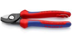Ножницы для резки кабелей 165 mm KNIPEX 95 12 165T, KN-9512165T, 4433 руб., KN-9512165T, KNIPEX, Ножницы для резки кабеля , проволочных тросов, пластмассы и др.