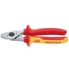 Ножницы для резки кабелей 95 16 165, KN-9516165, 4829 руб., KN-9516165, KNIPEX, Ножницы для резки кабеля , проволочных тросов, пластмассы и др.