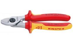 Ножницы для резки кабелей 95 16 165, KN-9516165, 5174 руб., KN-9516165, KNIPEX, Ножницы для резки кабеля , проволочных тросов, пластмассы и др.
