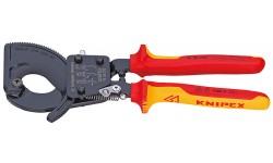 Резак для кабелей 95 36 250, KN-9536250, 27504 руб., KN-9536250, KNIPEX, Ножницы для резки кабеля , проволочных тросов, пластмассы и др.