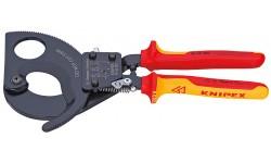 Резак для кабелей 95 36 280, KN-9536280, 36575 руб., KN-9536280, KNIPEX, Ножницы для резки кабеля , проволочных тросов, пластмассы и др.