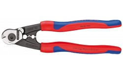Ножницы для резки проволочных тросов 95 62 190, KN-9562190, 5108 руб., KN-9562190, KNIPEX, Ножницы для резки кабеля , проволочных тросов, пластмассы и др.
