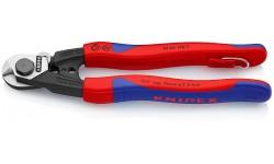 Ножницы для резки проволочных тросов 190 mm KNIPEX 95 62 190T, KN-9562190T, 5962 руб., KN-9562190T, KNIPEX, Ножницы для резки кабеля , проволочных тросов, пластмассы и др.