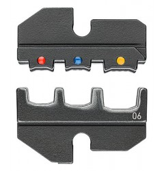 Матрицы опрессовочные и направляющие, для системных опрессовочных инструментов, KN-974906, 6605 руб., KN-974906, KNIPEX, Обжимники