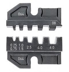 Матрицы опрессовочные и направляющие, для системных опрессовочных инструментов, KN-974908, 6401 руб., KN-974908, KNIPEX, Обжимники